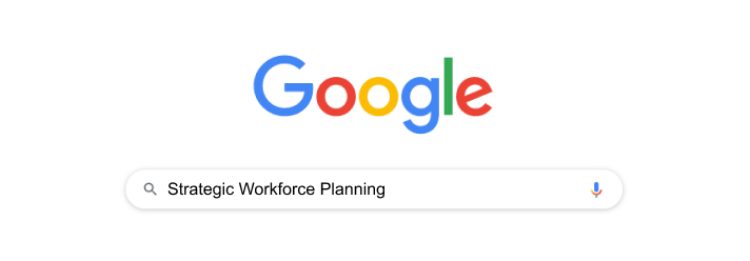 Finding a definition of strategic workforce planning in google search